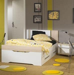 Lit Ado Ikea : chambre enfant jaune photo 8 15 beaucoup de motifs sympathiques dans cette ~ Teatrodelosmanantiales.com Idées de Décoration