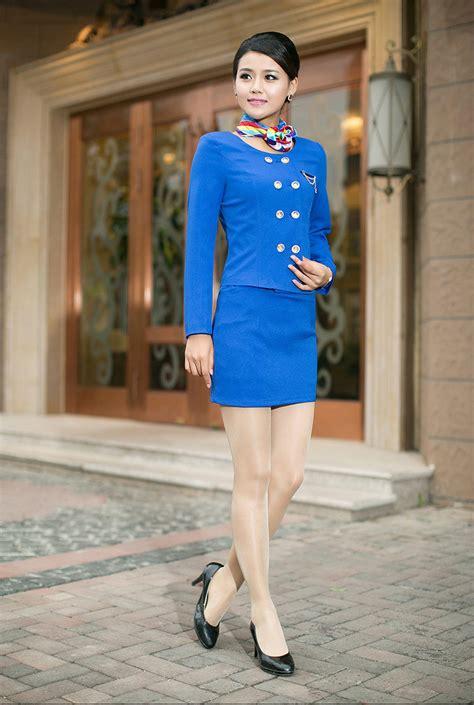 fashion air hostess uniformstewardess uniform skirt