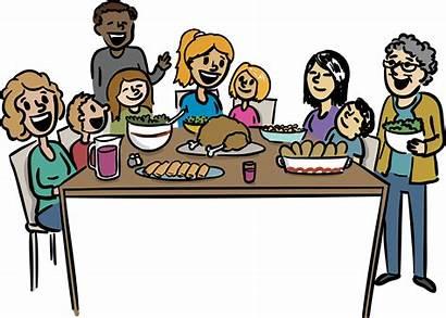 Dinner Clipart Thanksgiving Restaurant Church Help Transparent