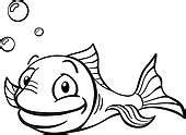 goldfish clipart black and white goldfish clipart black and white