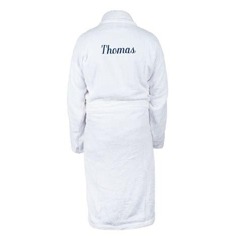 tablier de cuisine personnalisé homme peignoir homme personnalisé blanc yoursurprise