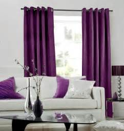 living room with purple curtains peenmedia
