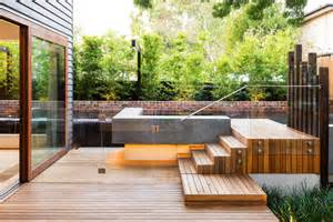 front to back split house glass pool fencing in melbourne frameless impressions