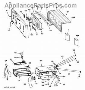 Parts For Ge Wbvh5300k0ww  Controls  U0026 Dispenser Parts