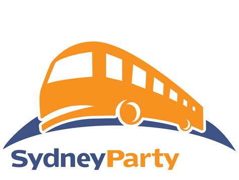 party bus logo sydney party bus