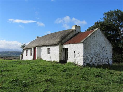 Cottage Ireland Cottage Culdaff County Donegal C 1800 Curious Ireland