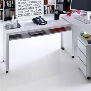 Computertisch Auf Rollen : schreibtisch vando computertisch pc tisch auf rollen in ~ Watch28wear.com Haus und Dekorationen