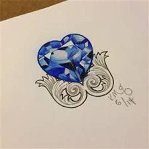 diamond sapphire tattoo     tattoo