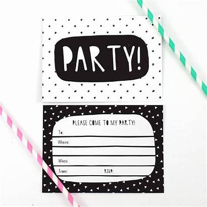 Invitations Party Invitation Birthday Printable Invite Templates