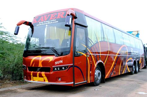 kaveri travels  bus booking  upto rs
