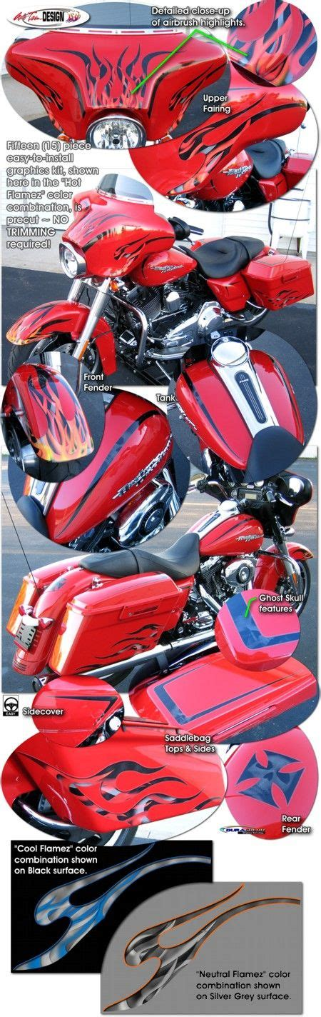 Davidson Vinyl Graphics by Motorcycle Specific Graphic Kits For Harley Davidson