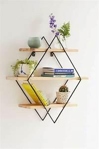 Etagere Murale Triangle : 56 id es comment d corer son appartement ~ Teatrodelosmanantiales.com Idées de Décoration