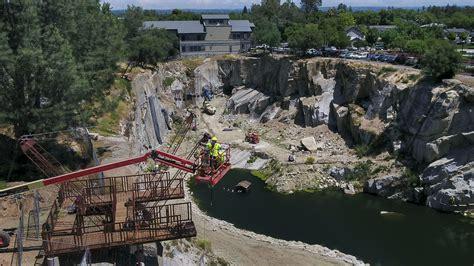 rocklins quarry adventure park  open  august  drone shows