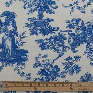 Toile De Jouy : toile de jouy french scene print cotton satin muslin curtain upholstery fabric ebay ~ Teatrodelosmanantiales.com Idées de Décoration