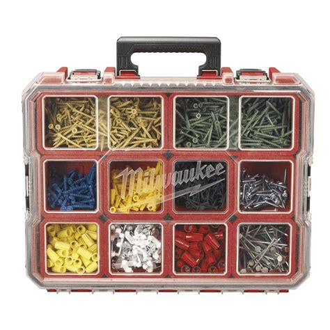 truck tool boxes milwaukee 10 compartment pro small parts