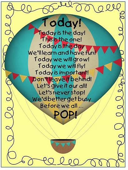 Balloon Air Balloons Quotes Poems Release Classroom