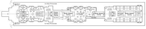 titanic deck plans discovery channel deck plans for titanic