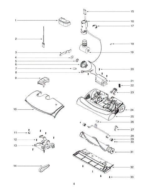 electrolux el6988bz oxygen canister vacuum parts