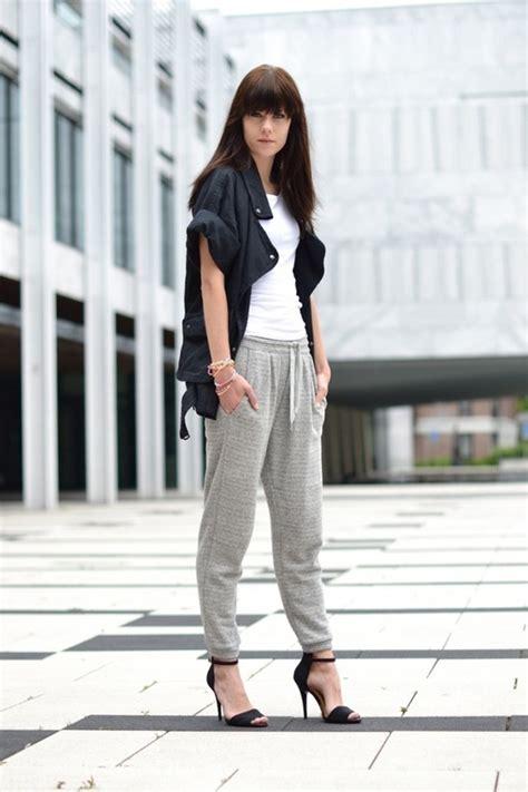 Ways Stylishly Wear Sweatpants Lauren Messiah