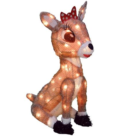 shop rudolph the red nosed reindeer 1 54 ft outdoor