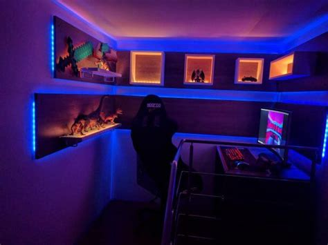 Cool Led Light Room Ideas by 50 Best Setup Of Room Ideas A Gamer S Guide