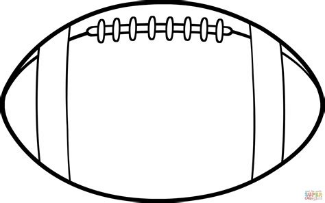 Football Kicker Free Colouring Pages