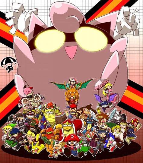 Smash Bros Fan Art Jigglypuff Ssb Nintendo Nintendo