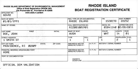 Florida Statute Boat Registration by Free Rhode Island Bill Of Sale Forms Pdf Word Doc