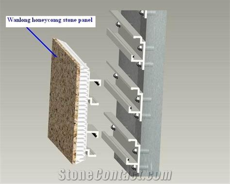honeycomb panel for facade cladding 細部工法