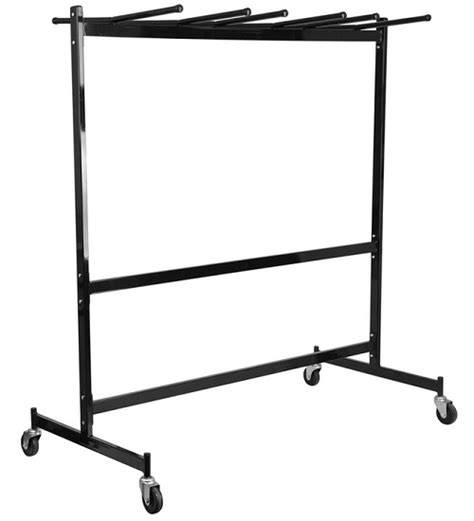 folding chair and table cart combo