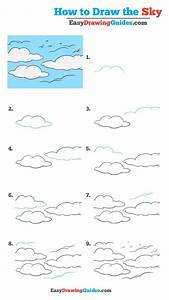 How To Draw The Sky