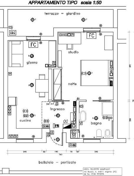 Appartamenti Per Anziani Autosufficienti by Progetto Di Appartamento Minimo Domotico Per Anziani