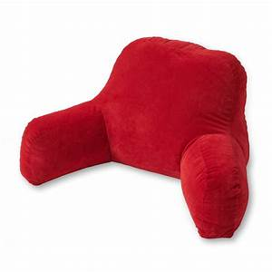 greendale home fashions bed rest pillow hyatt scarlett With college bed rest pillow