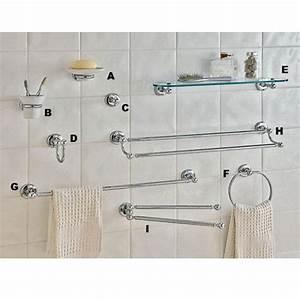 Accessoire Salle De Bain Cuivre : accessoires de salle de bains glamour porte serviettes mobile salle de bains ~ Melissatoandfro.com Idées de Décoration
