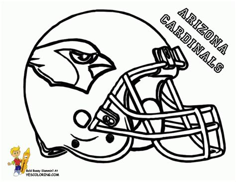 Get This Football Helmet Nfl Coloring Pages For Boys
