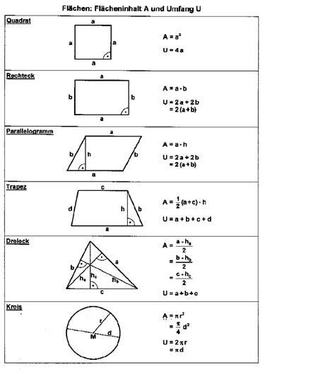 flaeche berechnen quadrat berechnen von umfang und fl
