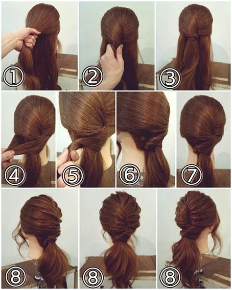 Hairstyles Step By Step For by Hairstyles For Hair Step By Step Tutorial Step By