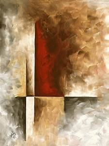 Abstract, Contemporary, Art, Original, Painting, In, Neutral