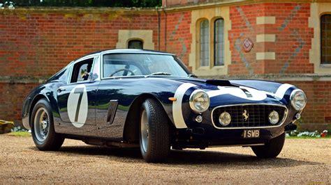 Ferrari, Car, 250 Gt Berlinetta Swb, Classic Ferrari, Old