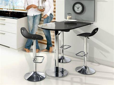 table bar pour cuisine table murale pour une cuisine plus sympa