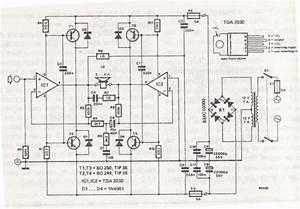 200w Hybrid Audio Amplifier Circuit