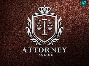 Lawyer, Attorney Logo Template | PenPal - Sellfy.com