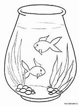 Aquarium Coloring Pages Printable Ocean Recommended Mycoloring sketch template