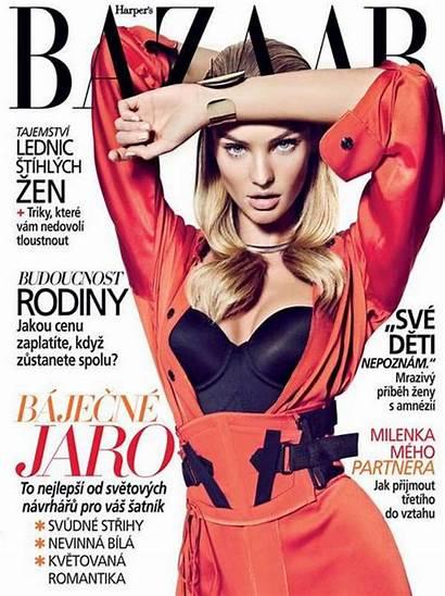Candice Swanepoel Magazine Bazaar Czech Harpers Cual
