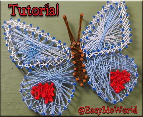 easymeworld string art tutorial  easy craft  kids