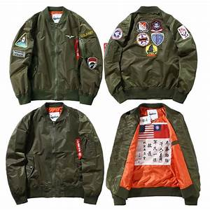 Compare Prices on Nasa Flight Jacket- Online Shopping/Buy ...
