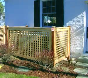 Wood Lattice Fence Designs Ideas