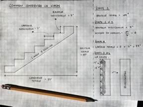 Construire Un Escalier En Bois Droit by 6 233 Tapes 224 Suivre Pour Cr 233 Er Votre Structure D Escalier