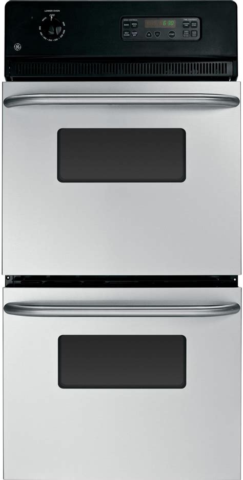 general electric jrpskss   electric double wall oven stainless steel