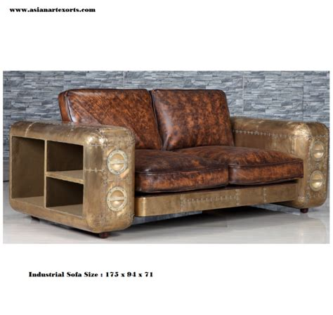 Sofa Industrial by Traditional Industrial Sofa
